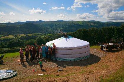 Yurt up
